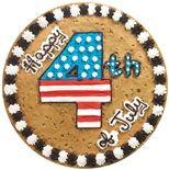 of July Cookie Cake- Great American Cookies Cute Cookies, Cupcake Cookies, Cookie Cakes, Giant Cookies, Cupcakes, Pizza Cookies, Cooking Cookies, Spring Cake, Summer Cakes