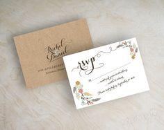 Image of Myriame Kraft Wedding Invitation