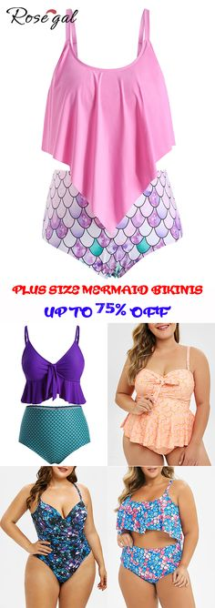 267a0a3da4cf2 Free shipping over $45, up to 75% off, Rosegal plus size swimsuit swimwear