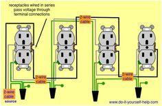 Split plug wiring diagram lighting pinterest diagram easy and wiring diagram receptacles in series cheapraybanclubmaster Gallery
