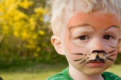 Our face painting ideas Lion Face Paint, Tiger Face Paints, Face Painting For Boys, Face Painting Designs, Body Painting, Halloween Makeup, Halloween Face, Halloween Ideas, Halloween Costumes