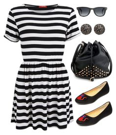 """""""Untitled #65"""" by lhenager ❤ liked on Polyvore featuring yeswalker, Influence, Henri Bendel and Jimmy Choo"""