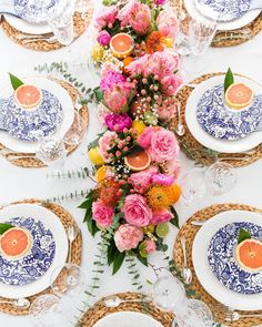 Super Ideas for flowers blue orange table settings Floral Centerpieces, Floral Arrangements, Table Arrangements, Masquerade Centerpieces, Wedding Centerpieces, Tall Centerpiece, Wedding Tables, Centerpiece Ideas, Wedding Reception