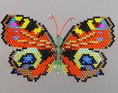 Tiger Swallowtail Butterfly Pattern and por WizardIslandDesigns