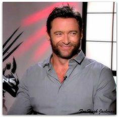 Hugh being interviewed about Wolverine