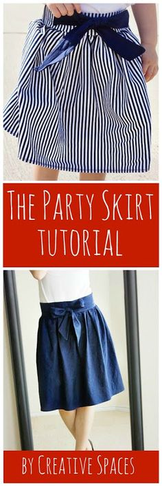The Party Skirt Tutorial by Creative Spaces www.u-createcraft...