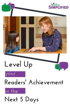 Looking for more efficient AND effective reading activities? Join our FREE special event, Level Up Your Readers' Achievement in the Next 5 Days. Discover how just 1 activity for 5 minutes a day for 5 days can boost your students' decoding, spelling and ac Student Reading, Kids Reading, Reading Activities, Reading Skills, Teaching Reading, Fun Learning, Reading Fluency, Guided Reading, Teaching Phonics