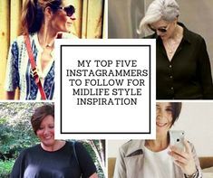 Looking for inspiration on real-life ways to wear classic and trendy clothes in midlife? Me too. These women are always on point.