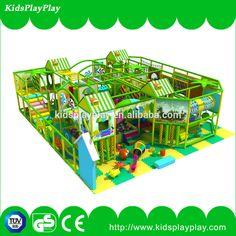 children indoor playground with EVA floor mat