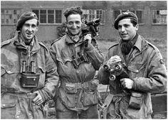 Oorlogscorrespondenten tijdens Market-Garden.