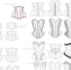 dessiner un corset - Recherche Google