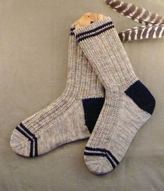 Happy New Year! I have a gift. A new sock pattern! I designed these for my son-in-law. They were his 2012 Christmas present. After knitting...