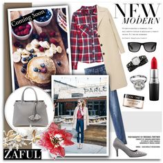 A fashion look from January 2016 by melissa-de-souza featuring Bally, Komono, Ray-Ban, MAC Cosmetics, Lancôme, L.K.Bennett und zaful