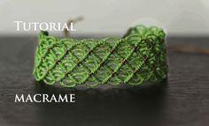 pulsera macrame modelo 48 | friendship bracelet  tutorial