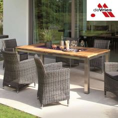 Outdoor Furniture Sets, Outdoor Decor, Home Decor, Environment, Tables, Stainless Steel, Decoration Home, Room Decor, Home Interior Design