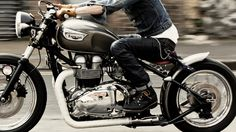 Triumph. I don't ride; but if I did, this is what it'd be.