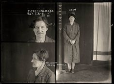 Eugenia Falleni, alias Harry Crawford, 16 August 1928. Convicted of murder. Eugenia Falleni spent most of her life masquerading as a man. In 1913 Falleni married a widow, Annie Birkett, whom she later murdered. The case whipped the public into a frenzy as they clamoured for details of the 'man-woman' murderer. Aged approximately 43. Sydney, Australia.