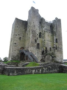 Trim Castle, Co meath  The OPW, office of public works, has been restoring this castle for 10 years. Braveheart was filmed here.