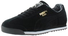 *True To Size* The Puma Men's Roma shoe is the perfect balance between a casual shoe that can dressed up with the sleek feel of a classic sneaker. These sneakers feature: made of different material up