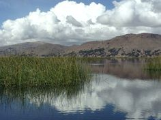 Lake Titicaca. Have read a lot of it, maybe see it some day?