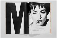 FABIEN BARON is a French art director and magazine editor. He is Editorial Director of Interview magazine. Print Layout, Layout Design, Diy Design, Print Design, Typography Layout, Graphic Design Typography, Typography Books, Editorial Layout, Editorial Design