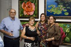 Unidas en el color. Galeria de arte Nader Ivelisse Gil Pelletier y Dahira Estrada Gil. Pintoras dominicanas.