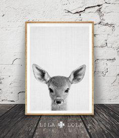 Woodlands Decor kwekerij dier afdrukbare Kids Gift door LILAxLOLA