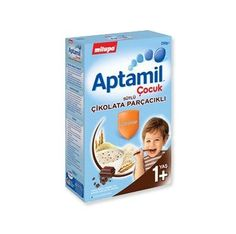 Aptamil Çocuk Çikolata Parçacıklı Kaşık Maması