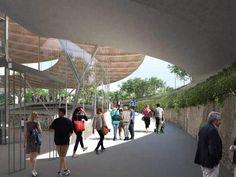 Gare de Noisy – Champs Trois lignes de métro (16, 11 et 15) se croiseront à la Gare de Noisy. Elle sera le point d'ancrage d'un tout nouveau quartier qui se dessinera autour de la Cité Descartes, pôle universitaire et de recherche.Architecte: Agence DuthilleulCorrespondances: M16, RER A, M11, BusNombre de voyageurs par jour: 174.000Logements neufs :découvrez les nouveaux programmes immobiliers à proximité des gares