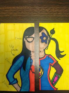 Danny Haas Alter Ego Lesson Plan, with printable rubric