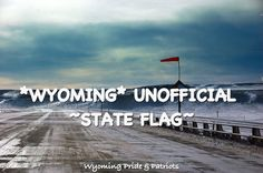 WY official flag