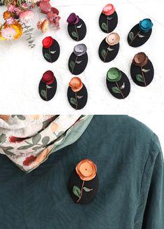 Cloth Flowers, Felt Flowers, Fabric Flowers, Creative Embroidery, Hand Embroidery, Handmade Accessories, Hair Accessories, Fabric Flower Brooch, Butterfly Hair