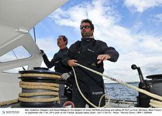 En route pour la #TJV13 ! #IMOCA #Class40 #Multi50 #MOD70 #Sail #LeHavre | www.scanvoile.com