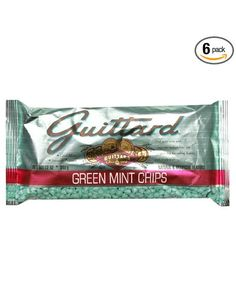 Guittard Green Mint Chips, 12-Ounce (Pack of 6): Amazon.com: Grocery & Gourmet Food