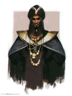 Sketch_Dailies: Jafar by giorgio baroni | Fan Art | 2D | CGSociety
