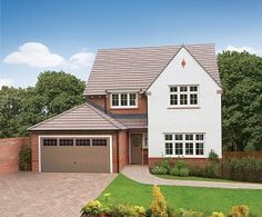 Find new build developments across England, Scotland and Wales. We feature over developments from 200 house builders. Find your dream new build today. Redrow Homes, Rendered Houses, New Housing Developments, Home Finder, Exterior Paint Colors For House, Facade House, House Exteriors, Exterior Cladding, Building A New Home