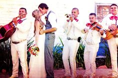 Spanish Wedding Music. ~Love the Mariachi Wedding band. Perfect for a Spanish-style wedding :)