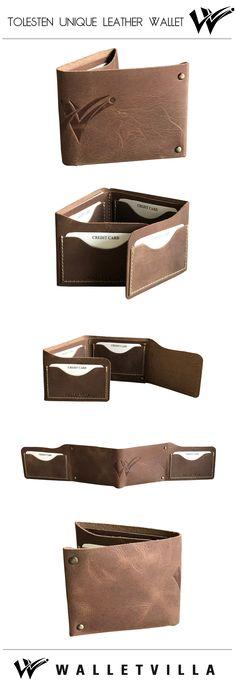 Tolesten Unique Leather Wallet