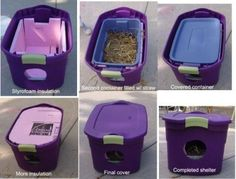 Got feral cats in the backyard? Keep 'em warm this winter.   26 Hacks That Will Make Any Cat Owner's Life Easier