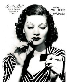 Lucille Ball for Max Factor