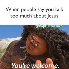 moana you're welcome gif Church Memes, Church Humor, Catholic Memes, Funny Christian Memes, Christian Humor, Christian Girls, Christian Life, Maui Youre Welcome, Your Welcome Meme