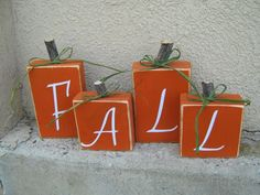 Favorite Fall Craft Ideas - Attempts at Domestication