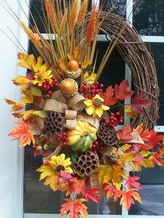 Fall Wreath - Southern Seasons