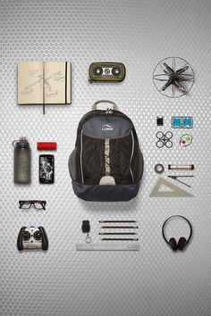 The L.L.Bean Explorer Backpack comes packed with technology even before its packed.
