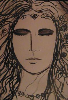 Art by Alice Lenkiewicz  Ink Drawing