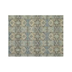 Alvarez Mineral Blue Wool Blend 9x12 Rug Living Room RugsDining