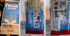 """a top made of a street Portuguese banner """"Festa do Avante"""""""