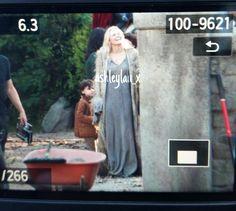 """Jennifer Morrison - Behind the scenes - Season 5 Episode 1 """"Dark Swan"""" 14 july 2015"""
