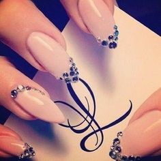 jewel nails