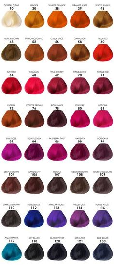 Color adore hair dye